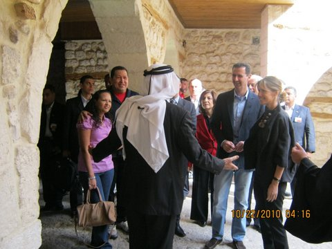 Assads as tourists in October 2010