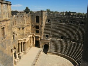 Bosra, Roman theater -