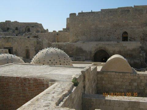 Inside Aleppo's citadel