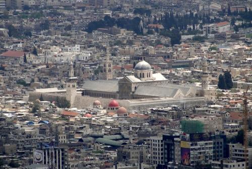 Damascus, Umayyad Mosque -- Bernard Gagnon