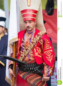 A Janissary  actually Roumanian)
