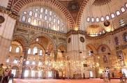 Interior, Suleyman mosque
