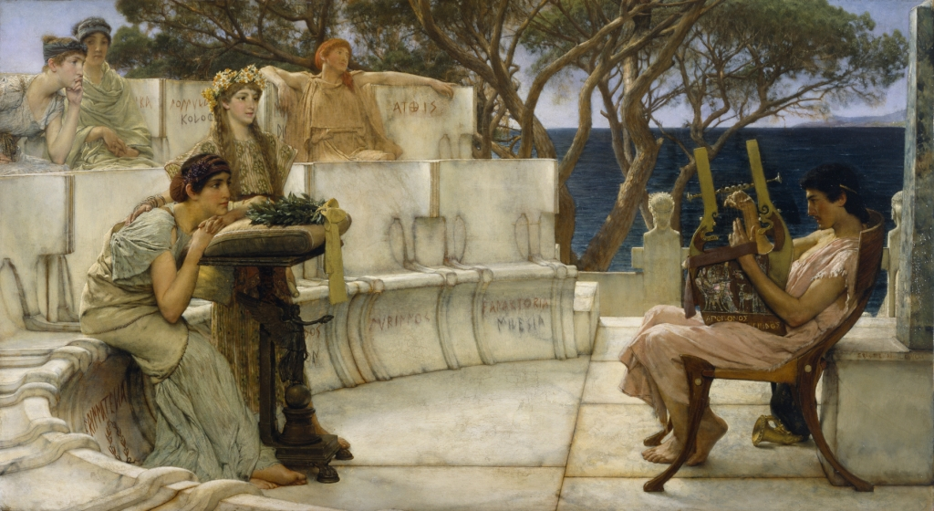 Sir_Lawrence_Alma-Tadema,_RA,_OM_-_Sappho_and_Alcaeus_-_Walters_37159