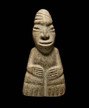 Olmec figurine, 1500-1000 b.c.e., not likely the carving that helped incriminate Hearst